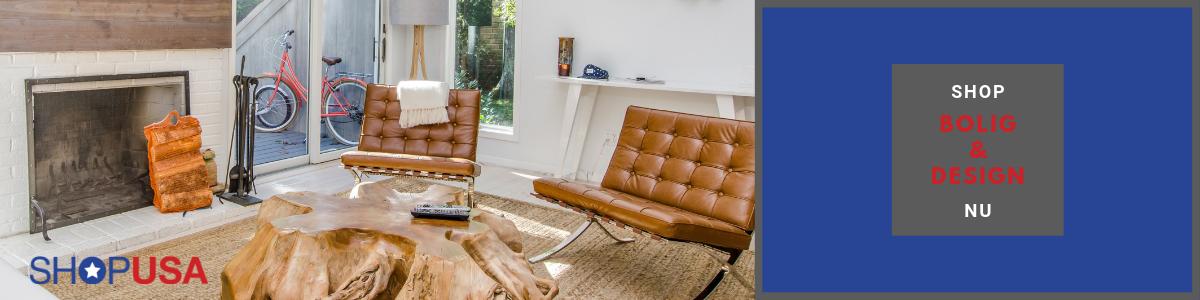 Køb indretning og bolig i USA fragt med ShopUSA