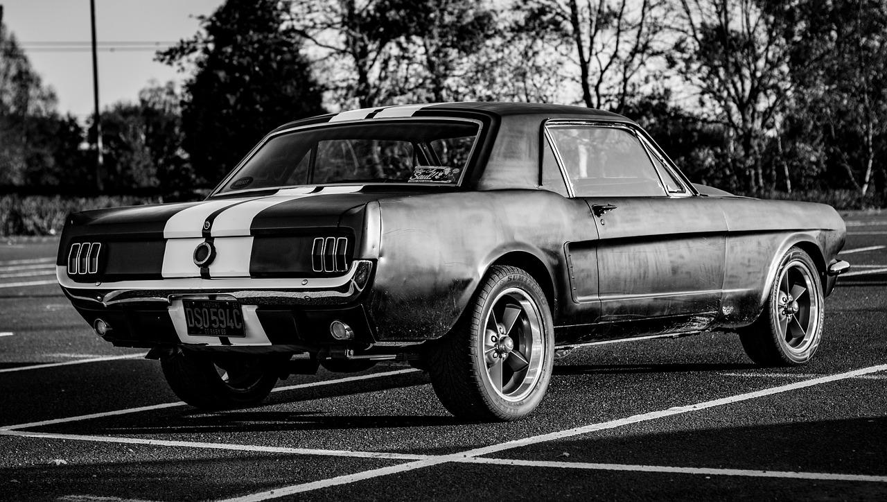 1965 Ford Mustang - køb dele i USA med din ShopUSA adresse