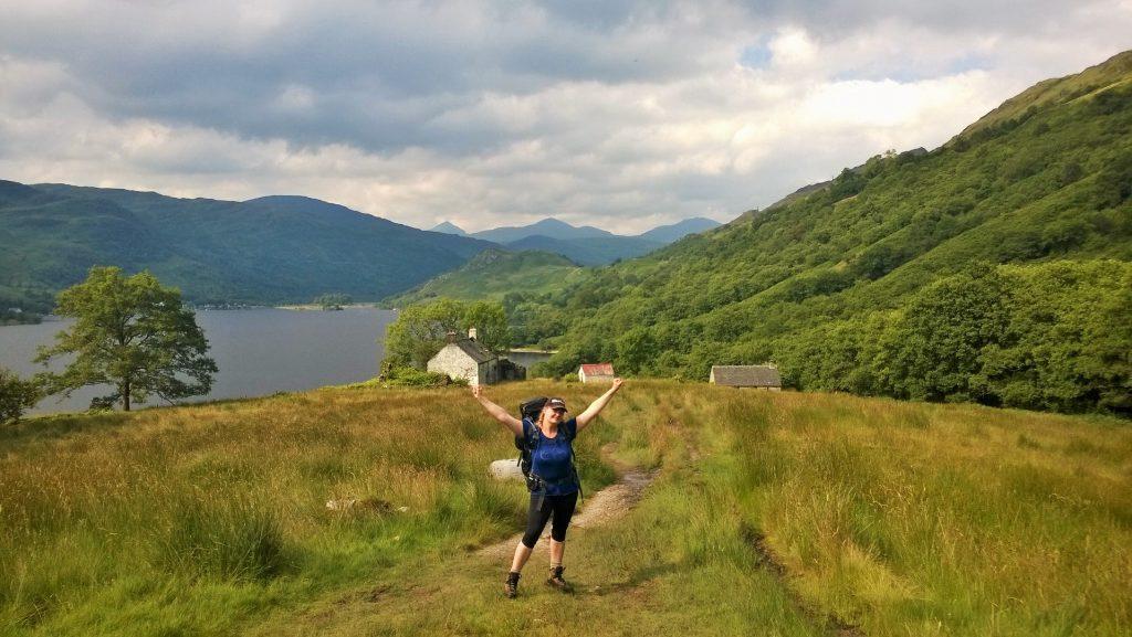 ShopUSA hjalp Malene med udstyr til vandretur i Skotland