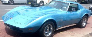 Import af bil fra USA Chevrolette Corvette 1976