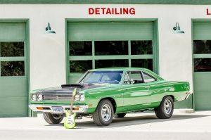 Få bilinspektion og hjemtransport af bil fra USA