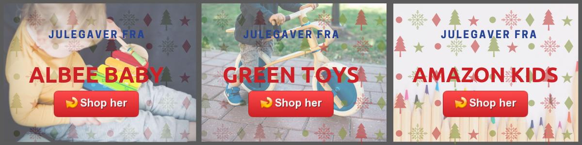 gaver til børn fra USA til Danmark