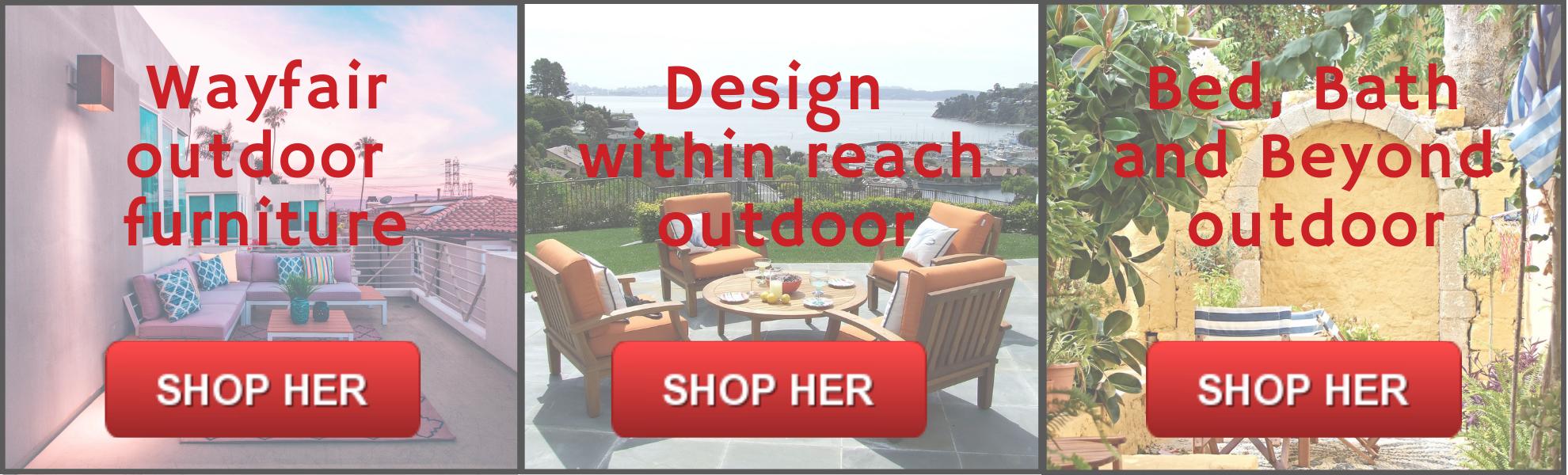 Havemøbler på tilbud fra USA