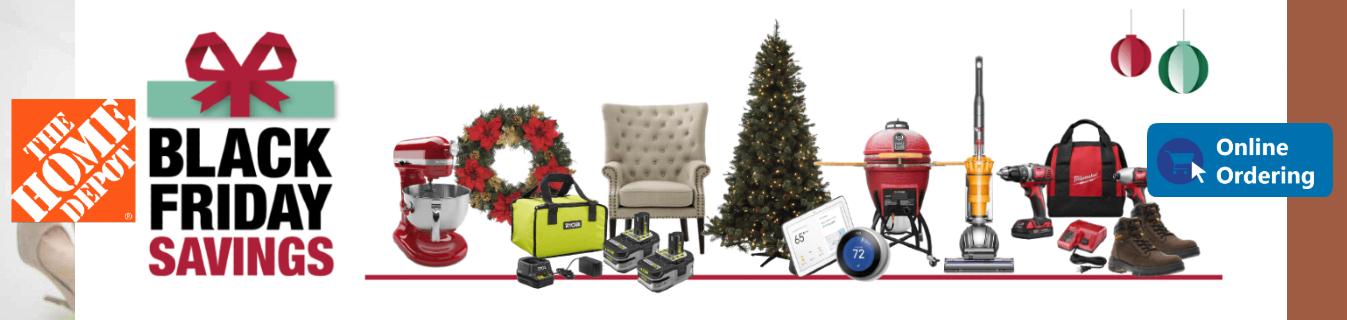ShopUSA - Home Depot Black Friday Sales