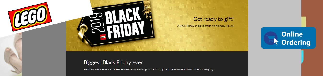 ShopUSA - Lego Black Friday Sales