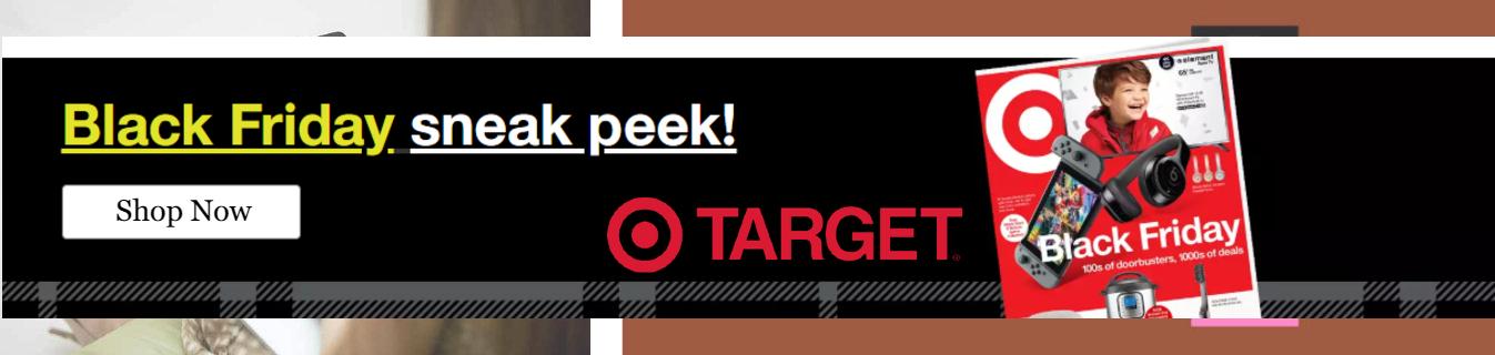 ShopUSA - Target Black Friday Sales