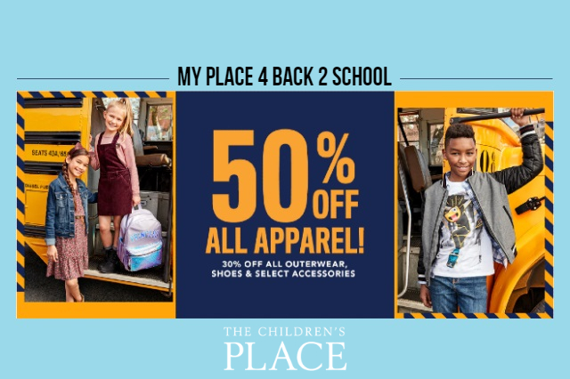 Children's Place - Back To School