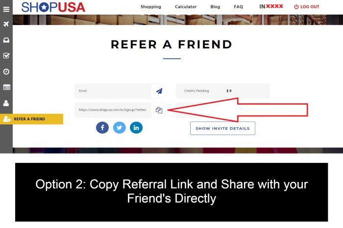 ShopUSA - Referral Program