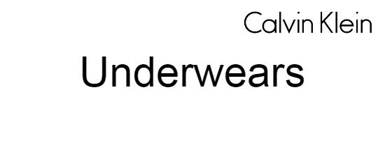 CALVIN Underwears