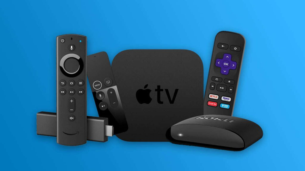 Tv streaming devices