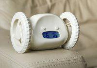 Clocky robotic alarm