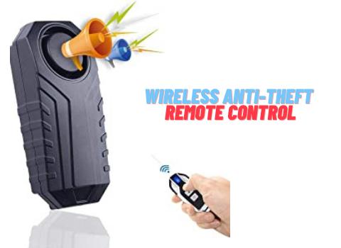 Wireless Anti-Theft Remote Control