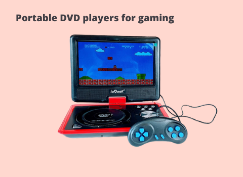 Portable DVD players for gaming