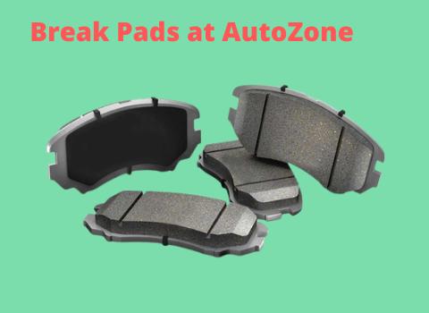 Break Pads at AutoZone