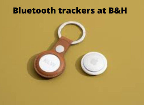 Bluetooth trackers at B&H