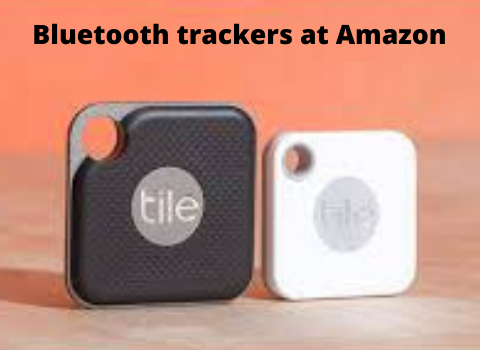 Bluetooth trackers at Amazon