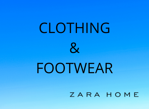 CLOTHING & FOOTWEAR _Zara Home