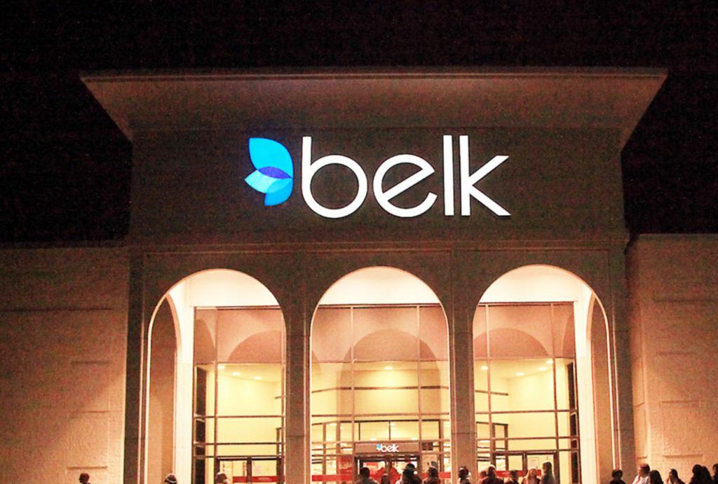 Shopping at Belk