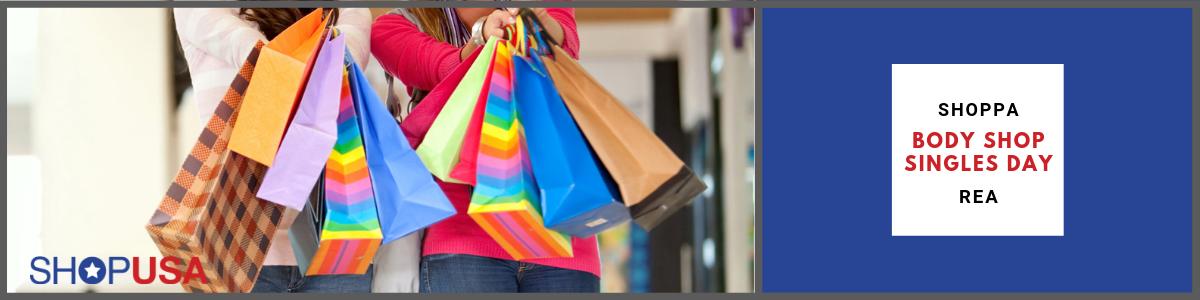 Body Shop från USA till sIngles Day rea - Frakta och shop med ShopUSA