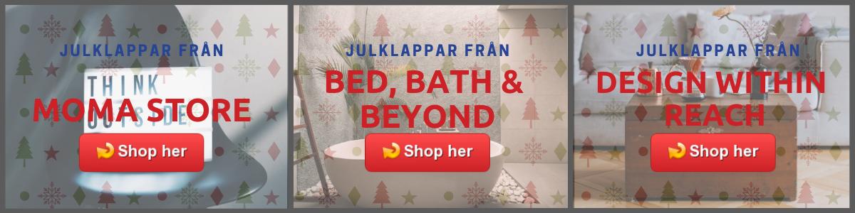 julklapp till mamma från USA til Sverige