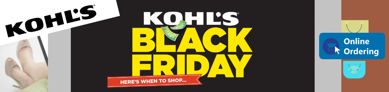 ShopUSA - Kohl's Black Friday Deals