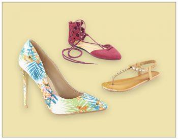 Shop & Ship Sandals Internationally using ShopUSA