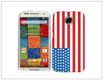 MOTOROLA MOTO G6 American Flag Phone Cases