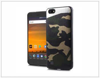 ZTE BLADE X GREEN CAMO MAGNETIC HOLOGRAPHIC DESIGN PHONE CASES