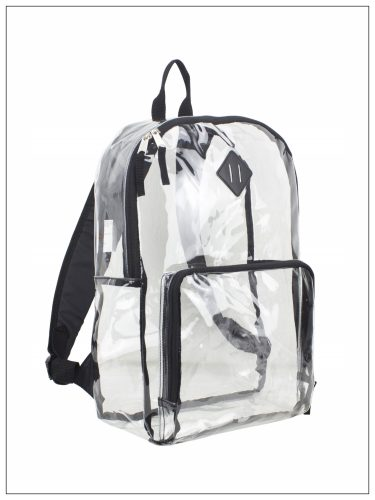 ShopUSA - Eastsport Multi-Purpose Clear Backpack