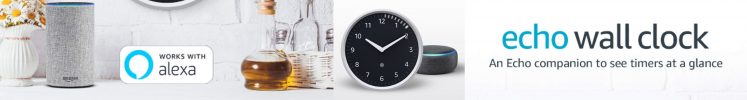 ShopUSA - Amazon Echo Wall Clock
