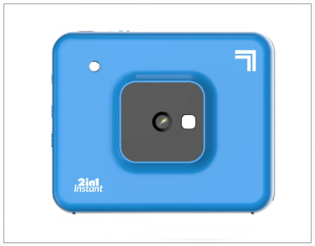 SHOPUSA - SHARPER IMAGE Instant Print Camera