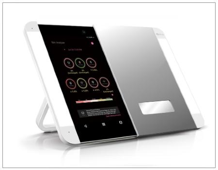 SHOPUSA - HiMirror Slide Smart Makeup Mirror with LED Light