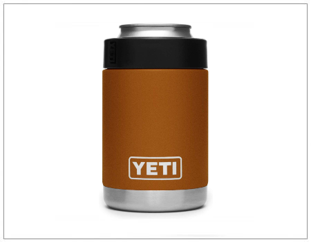 SHOPUSA - YETI Rambler Vacuum Insulated Stainless Steel Colster