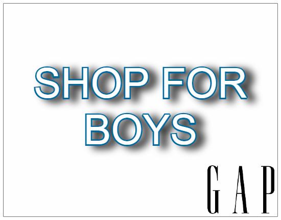SHOPUSA - GAP - BOYS