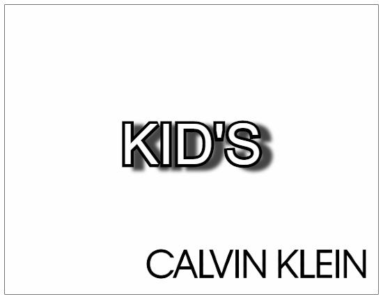 SHOPUSA - Calvin Klein KID'S