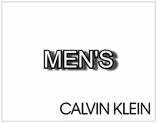 SHOPUSA - Calvin Klein MEN'S