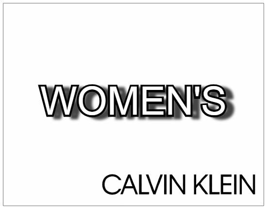 SHOPUSA - Calvin Klein WOMEN'S