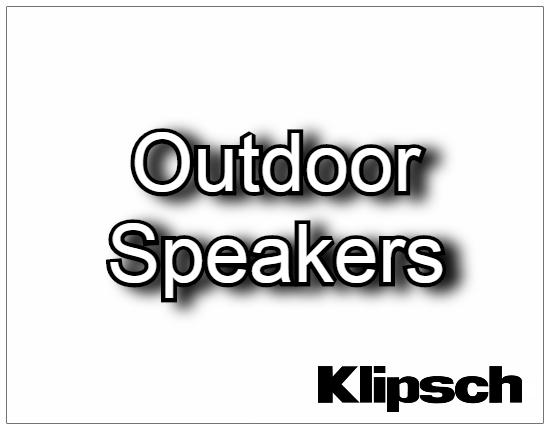 SHOPUSA - Klipsch - Outdoor Speakers