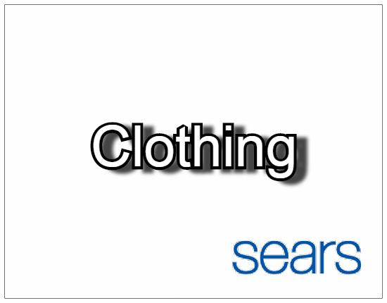 SHOPUSA - Sears - Clothing
