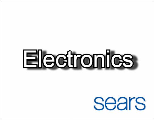 SHOPUSA - Sears - Electronics