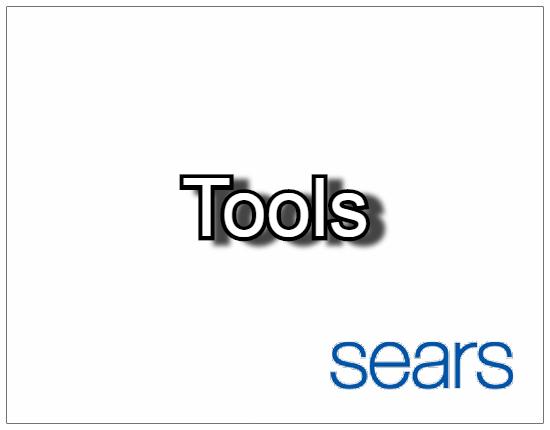 SHOPUSA - Sears - Tools