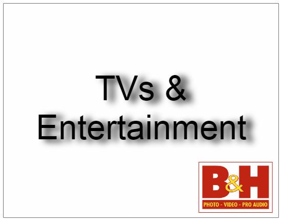 SHOPUSA - TVs & Entertainment