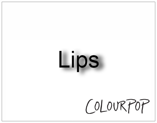 SHOPUSA - Colourpop - Lips