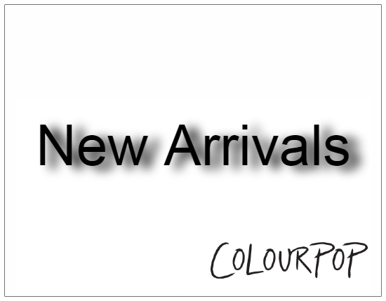 SHOPUSA - Colourpop - New Arrivals