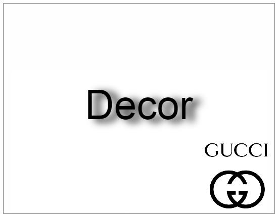 SHOPUSA - Gucci - Decor