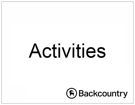 SHOPUSA - BackCountry - Activities