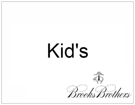 SHOPUSA - Brocks Brothers - Kids