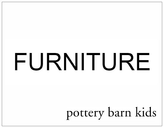 SHOPUSA - Pottery Barn Kids - FURNITURE