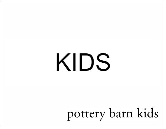 SHOPUSA - Pottery Barn Kids - KIDS