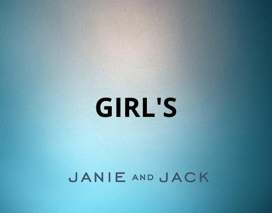 Girls Janie and Jack